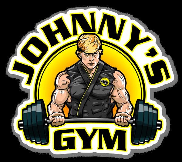 Johnny's Gym sticker