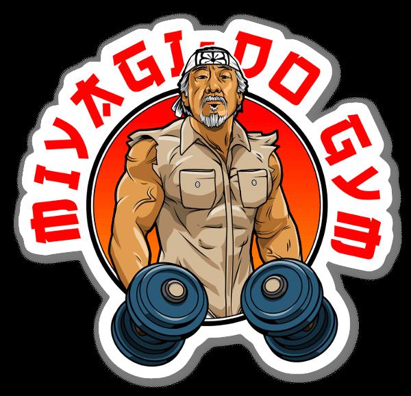 Miyagi's Gym sticker