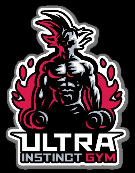 Ultra Instinct Gym sticker