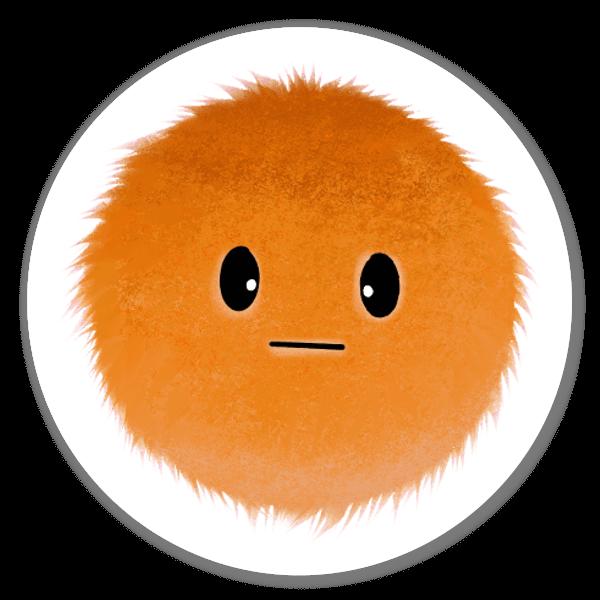 Coleção Mood Blobs - Confusa sticker
