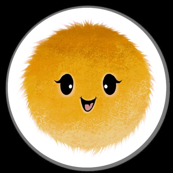 Mood Blob Collection- Happy sticker