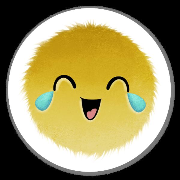 Coleção Mood Blobs - LOL sticker