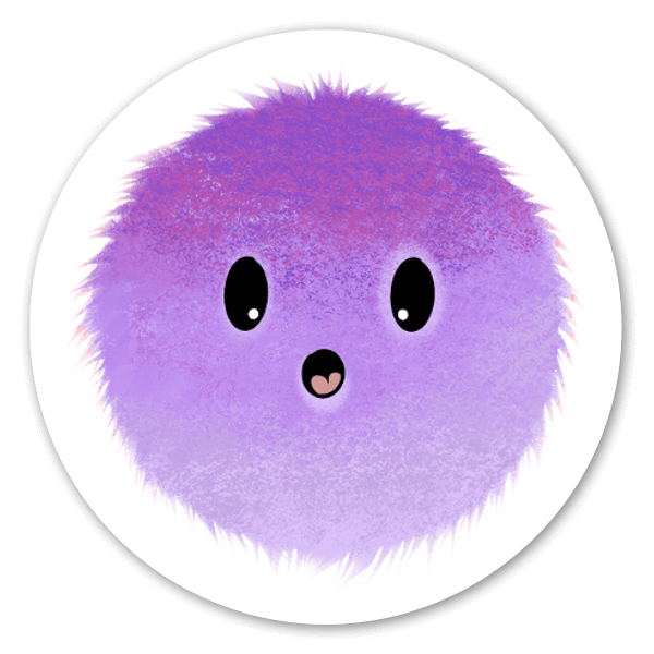 Mood Blobs Collection- Surprised sticker