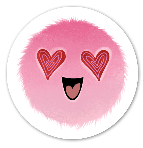 Mood Blobs Collection- In Love  sticker