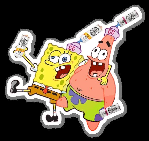 Spongebob Claw sticker