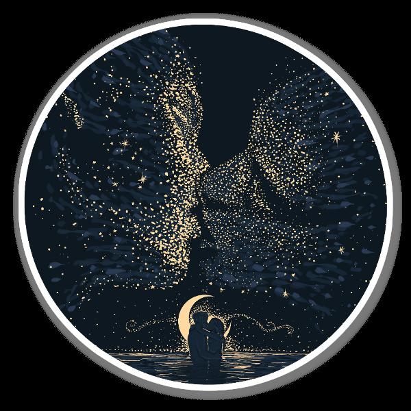 Starcrossed naklejka