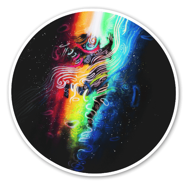 The Formation of Your Beautiful Soul sticker