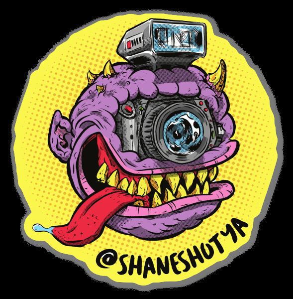 Shane Shot Ya sticker