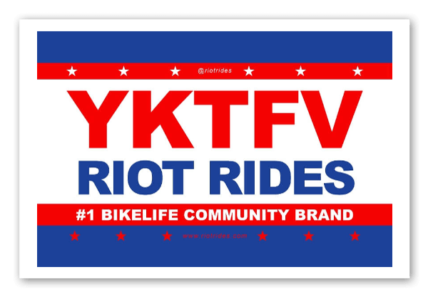 RR Political sticker