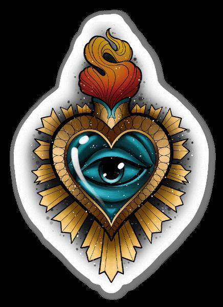 LORYS - Sacred heart 1 sticker