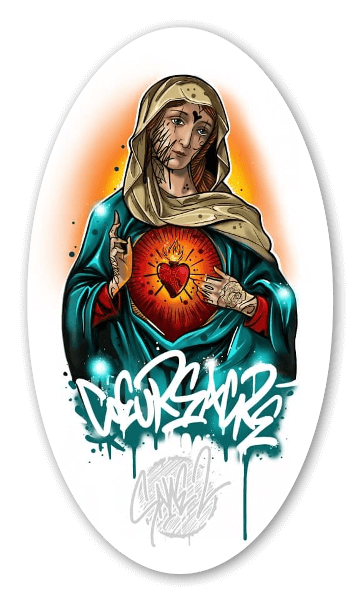 SANE2 - COEUR SACRÉ sticker