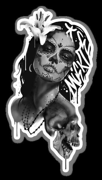 SANE2 - MORTE sticker