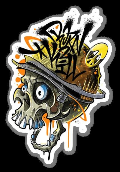 SANE2 - BORN2KILL sticker