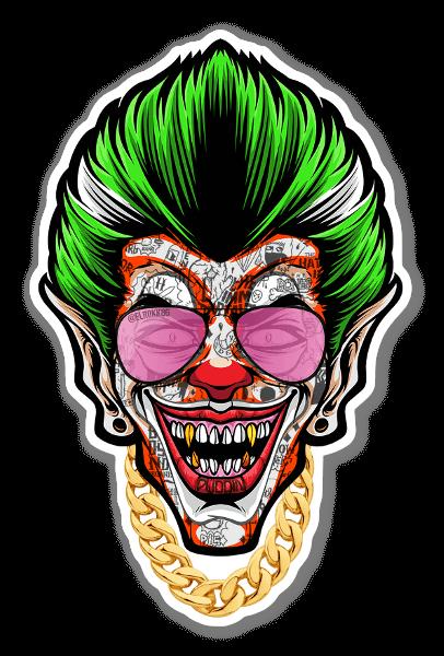 Clown Prince sticker