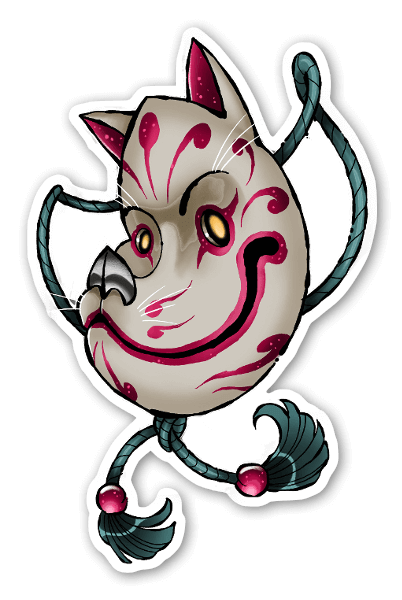 LORYS - Kitsu sticker