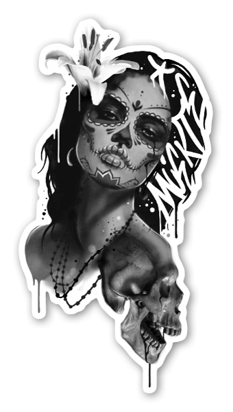 SANE2 - Muerte sticker