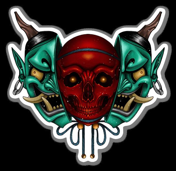 LORYS - Hanyamuerta sticker