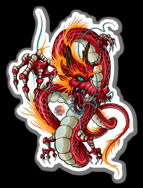 SANE2 - Furia del drago sticker