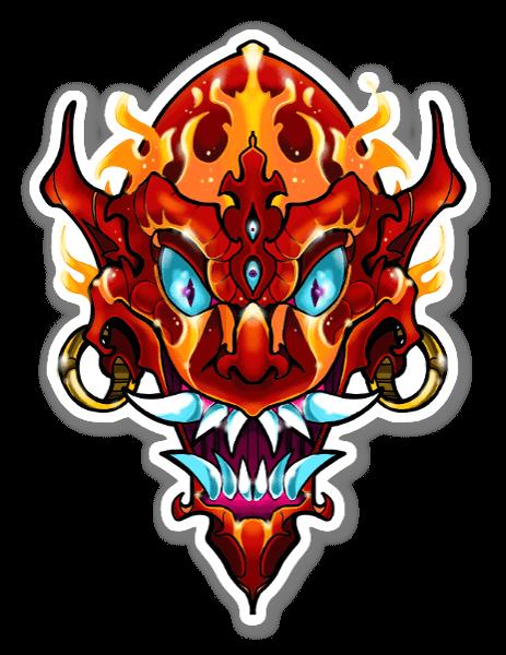 SANE2 - Demoniak sticker