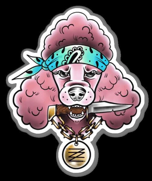 ZAZA - CrazyPinky sticker