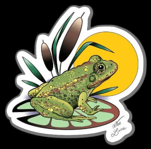 WEE LUCIE - Frog sticker