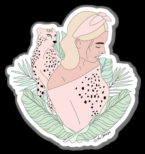 Animal Instinct sticker