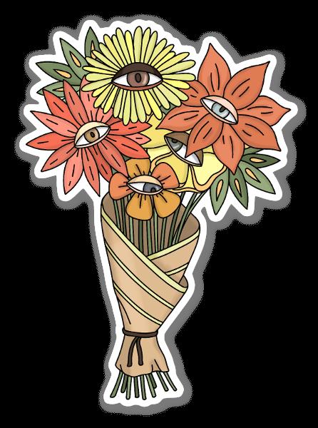 Boquet of Flowers Sticker