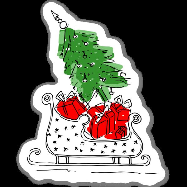 Vibes de Natal sticker