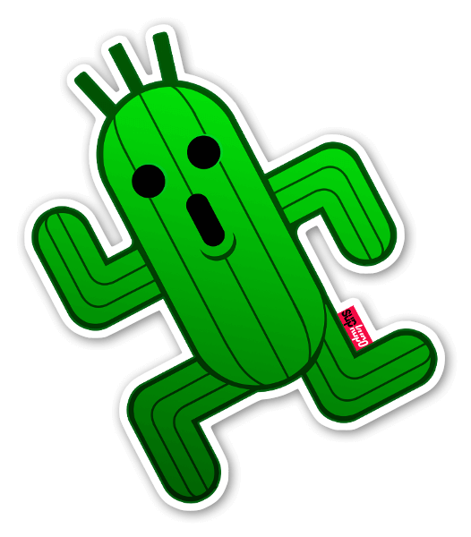 Cactus Go sticker
