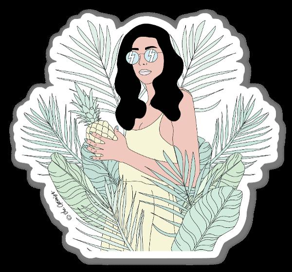 Raínha da Selva sticker