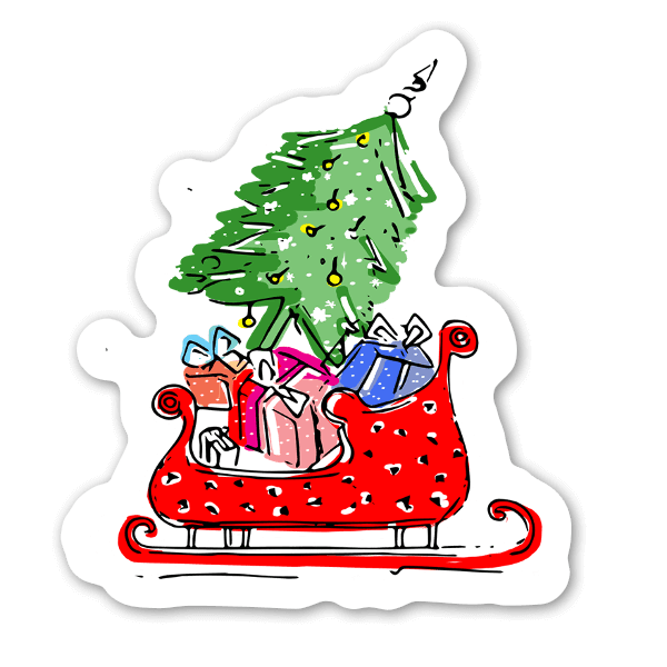 Christmas Gifts sticker