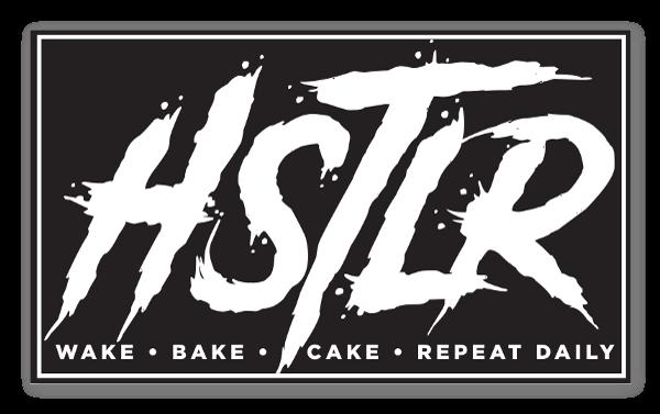 HUSTLER - WAKE UP CAKE UP!! sticker