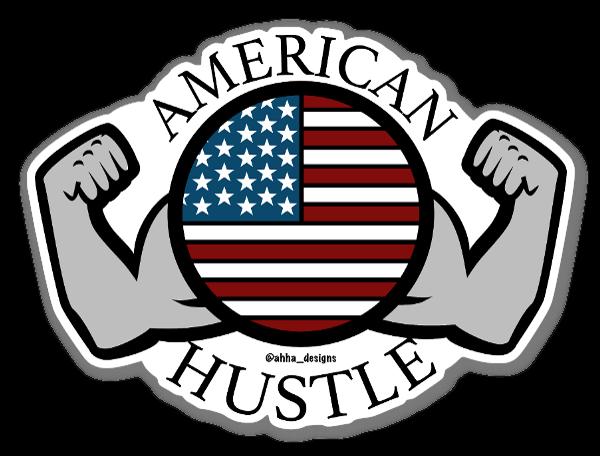 American Hustle sticker