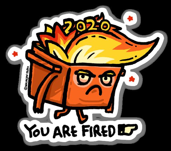 Trupster Fire sticker