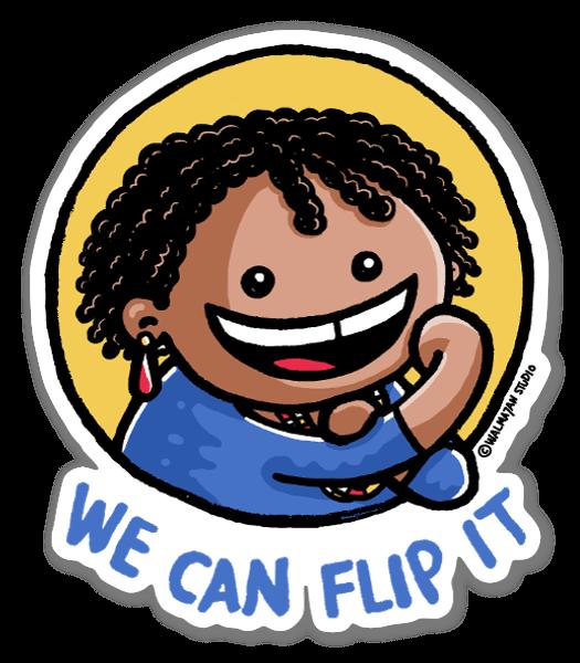 We Can Flip it Georgia sticker