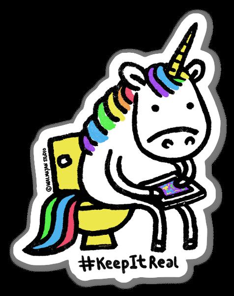 Keep It Real sticker