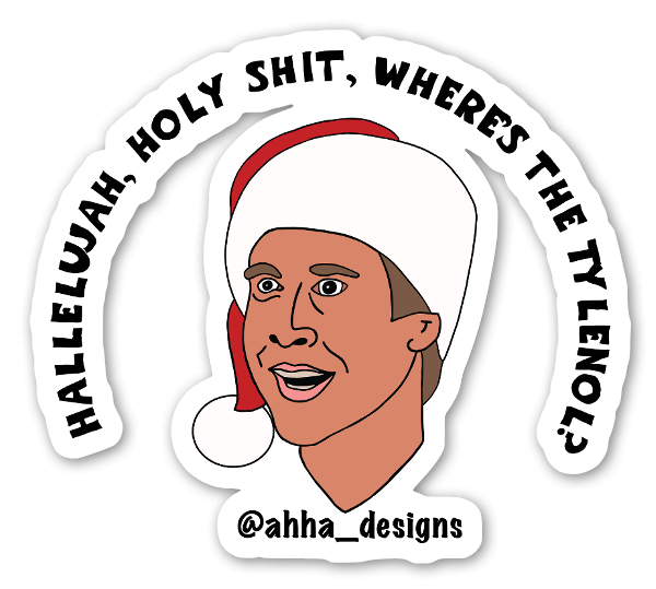 Hallelujah Sticker