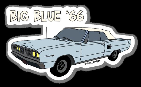 66 Dodge Coronet sticker