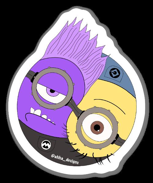 Autocolante MinYin & Yang sticker