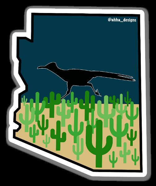 Arizona Roadrunner Sticker