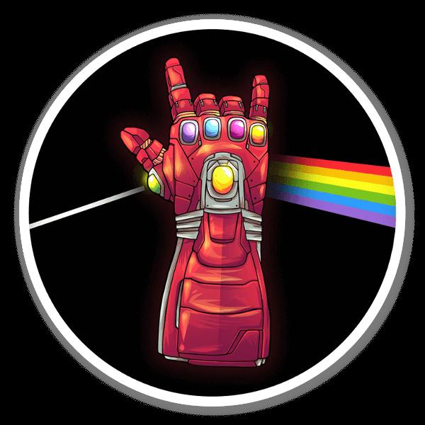 Iron side sticker
