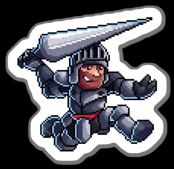 Pixel Arthur sticker