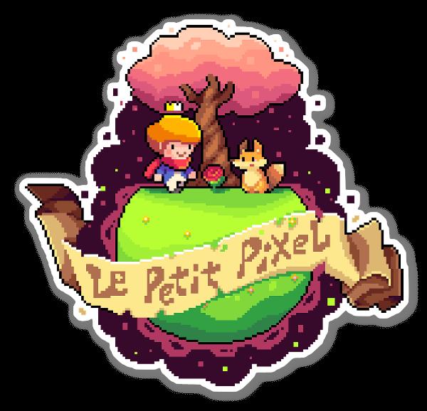 Le Petit Pixel sticker