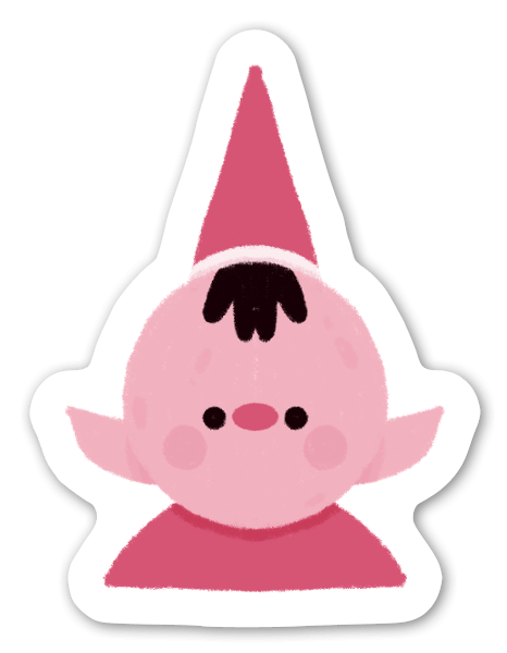 Elfo sticker