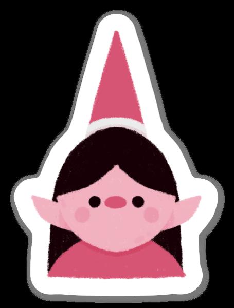 Une Elfe sticker