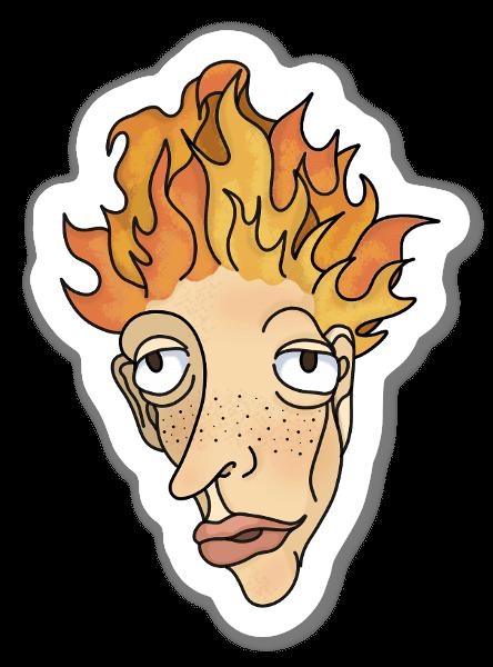 Ansiedade sticker