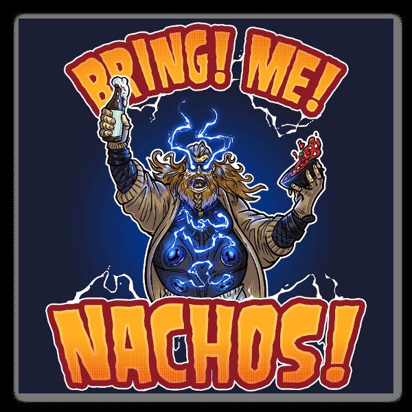 Bring Me Nachos! sticker