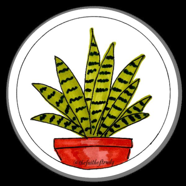 Planta em Vaso 2 sticker