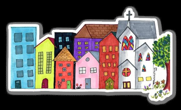 Little City Sticker