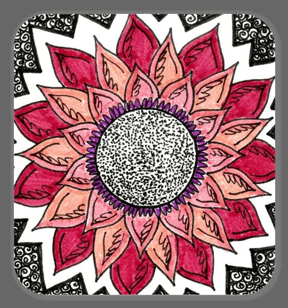 Adesivo fiore sticker